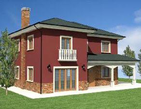 Brick color paint