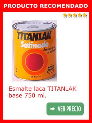 Esmalte laca TINTANLAK base 750 ml.