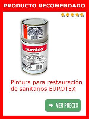 Pintura para restauración de sanitarios EUROTEX 1 litro