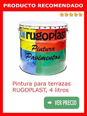 Pintura para pavimentos RUGOPLAST 4 litros