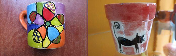 Pintura para tazas pintar y decorar tazas de cer mica Esmalte para ceramica