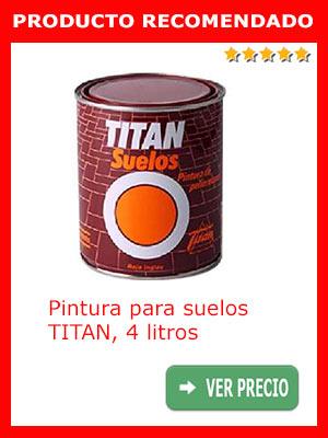 Pintura para suelos TITAN 4 litros