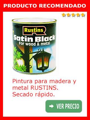 Pintura secado rápido para muebles RUSTINS SATB1000