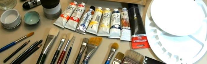 Pintar con acrílico
