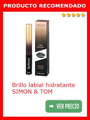 Pintura para labios. Brillo labial hidratante SIMON & TOM