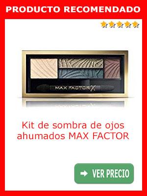 Pintura para ojos ahumados kit MAX FACTOR