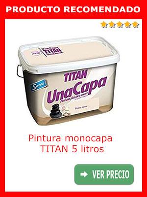 Pintura monocapa TITAN 5 litros