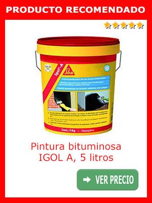 Pintura bituminosa IGOL A 5 kilos