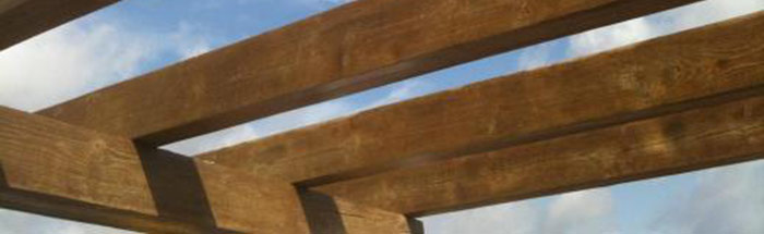 Pintura imitación madera