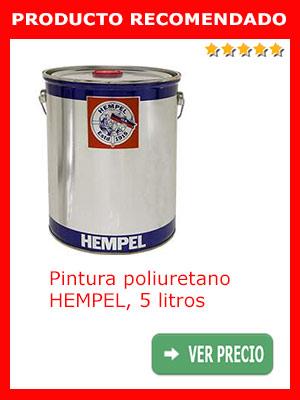Pintura poliuretano HEMPEL 5 litros