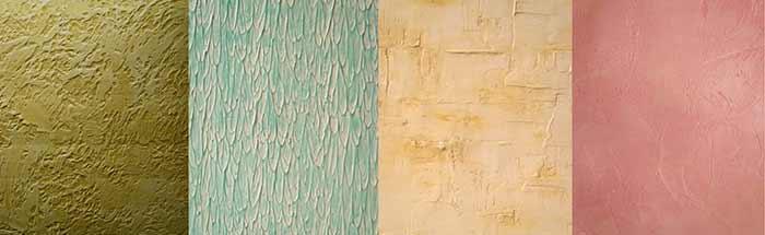 Pintura texturizada pintura for Pintura de paredes interiores fotos
