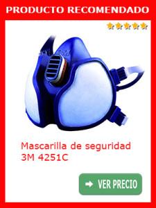 Mascarilla de seguridad 3M 4251C