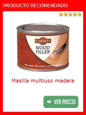 Masilla multiuso madera Liberon RSLTSBA400