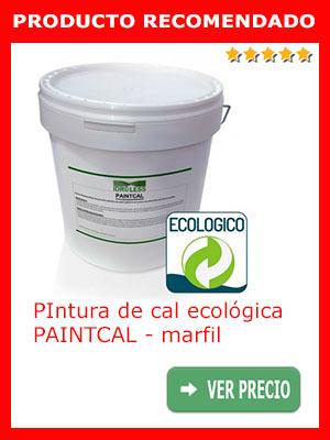 Pintura de cal ecológica PAINTCAL - marfil 5 Kg.