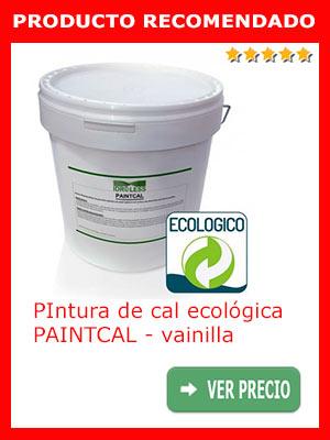 Pintura de cal ecológica PAINTCAL - vainilla 5 Kg.