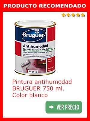 Pintura antihumedad Bruguer blanco 750 ml