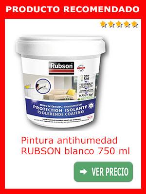 Pintura antihumedad Rubson blanco 750 ml