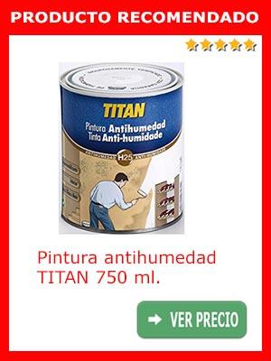 Pintura antihumedad Titan 750 ml
