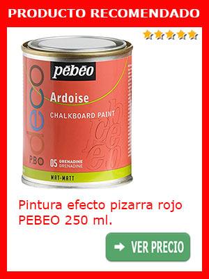 PIntura efecto pizarra granadina PEBEO 250 ml.