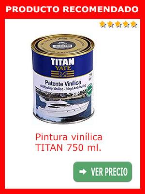 Pintura vinílica TITAN 750 ml.