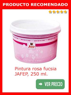 Pintura rosa JAFEP, 250 ml.