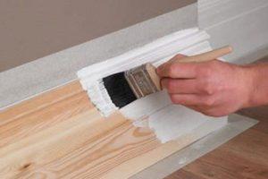 Pintura blanca para madera