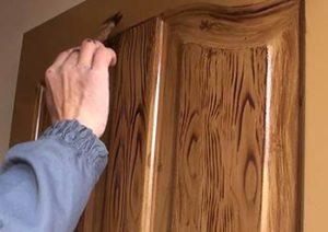 Pintura color madera