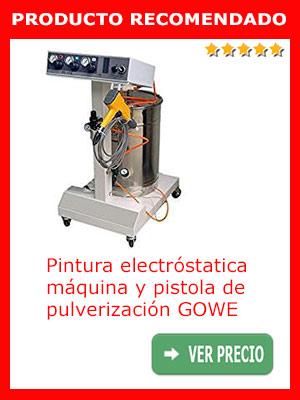 Pintura electróstatica, máquina y pistola de pulverización GOWE