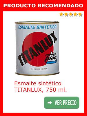 Pintura esmalte sintético TITANLUX 750 ml.