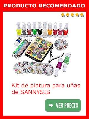 Pintura para uñas kit de manicura SANNYSIS