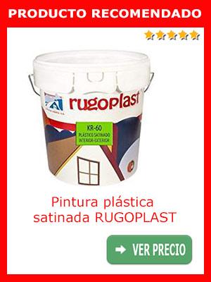 Pintura plástica satinada RUGOPLAST