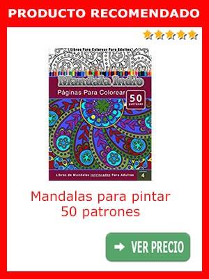 Mandalas para pintar CHIQUITA PUBLISHING - 50 patrones
