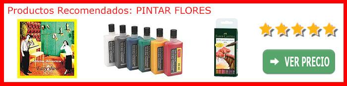 Pintar flores - productos