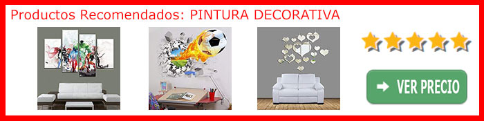 Pintura decorativa - productos