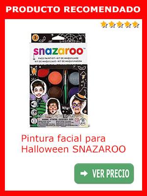 Pintura facial para Halloween SNAZAROO