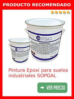 Pintura Epoxi para suelos industriales SOPGAL