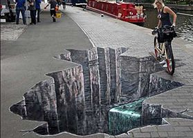 Pintura tridimensional