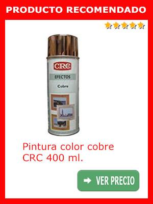 Pintura color cobre CRC 400 ml.