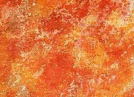 Pintura color óxido