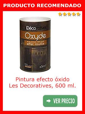 Pintura color óxido LES DECORATIVES 600 ml.