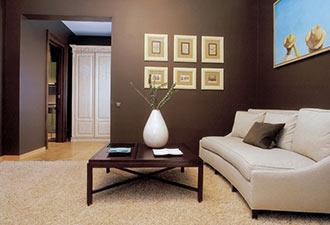 Pintura color chocolate calidez y confort en tu hogar for Pintura color canela