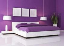 Pintura color lila