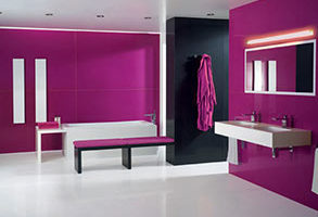 Pintura color fucsia