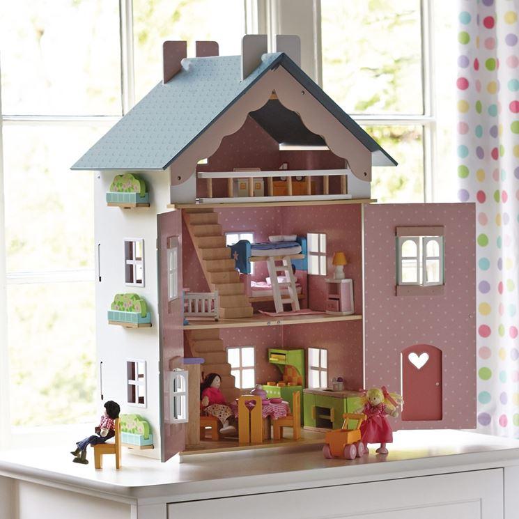 Casa de muñecas de cartón: los muebles