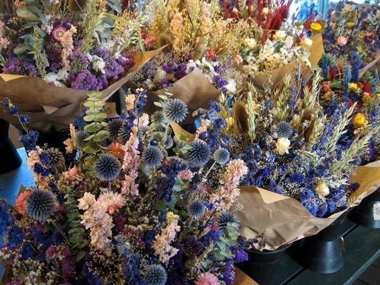 Ideas con flores secas: marco