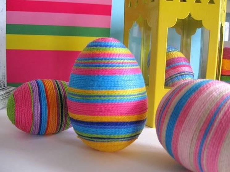 Hacer huevos de Pascua de ganchillo