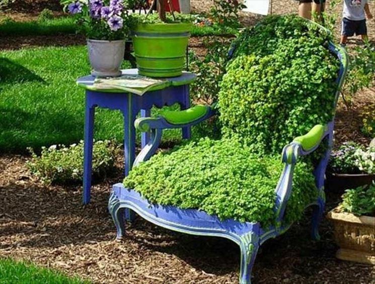 trono de hojas para el rey del bricolaje