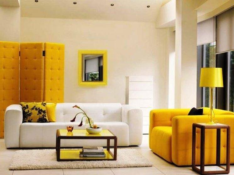 Habitación con colores en armonía