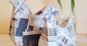 Cómo trabajar el papel maché