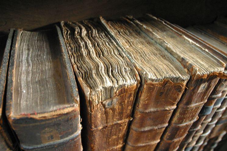 Observación de los elementos del libro a restaurar